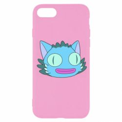 Чехол для iPhone 7 Funny cat from Rick and Morty season 4