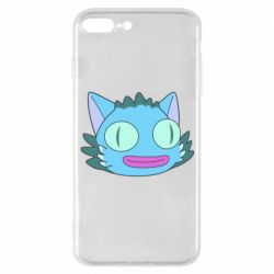 Чехол для iPhone 7 Plus Funny cat from Rick and Morty season 4