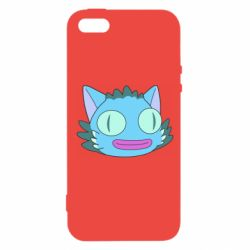 Чехол для iPhone5/5S/SE Funny cat from Rick and Morty season 4