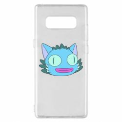 Чехол для Samsung Note 8 Funny cat from Rick and Morty season 4