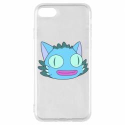 Чехол для iPhone 8 Funny cat from Rick and Morty season 4
