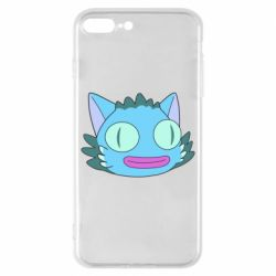 Чехол для iPhone 8 Plus Funny cat from Rick and Morty season 4