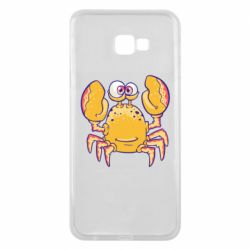 Чехол для Samsung J4 Plus 2018 Funny crab
