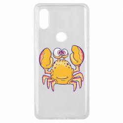 Чехол для Xiaomi Mi Mix 3 Funny crab