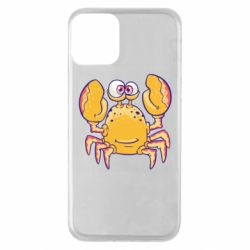 Чехол для iPhone 11 Funny crab
