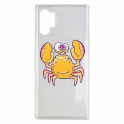 Чехол для Samsung Note 10 Plus Funny crab