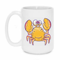 Кружка 420ml Funny crab