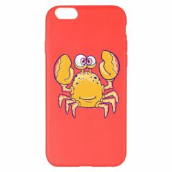 Чехол для iPhone 6 Plus/6S Plus Funny crab