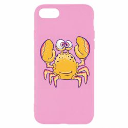 Чехол для iPhone 7 Funny crab