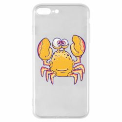 Чехол для iPhone 7 Plus Funny crab