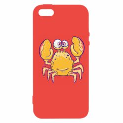 Чехол для iPhone5/5S/SE Funny crab