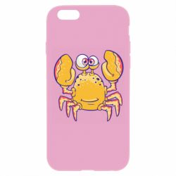 Чехол для iPhone 6/6S Funny crab