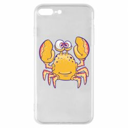 Чехол для iPhone 8 Plus Funny crab
