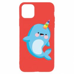 Чехол для iPhone 11 Pro Max Funny dolphin