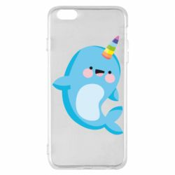 Чохол для iPhone 6 Plus/6S Plus Funny dolphin