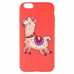 Чехол для iPhone 6 Plus/6S Plus Funny llama