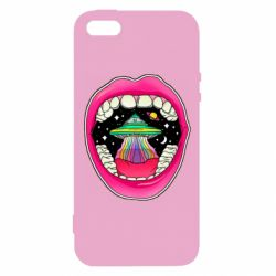 Чохол для iphone 5/5S/SE Funny mouth