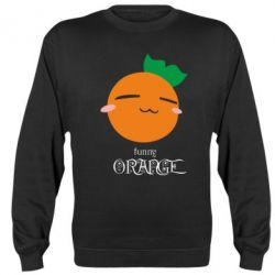 Реглан (свитшот) Funny orange