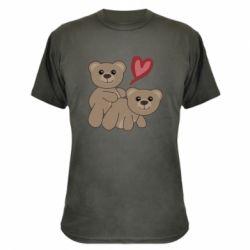 Камуфляжная футболка Funny passion
