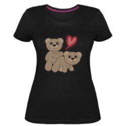 Женская стрейчевая футболка Funny passion