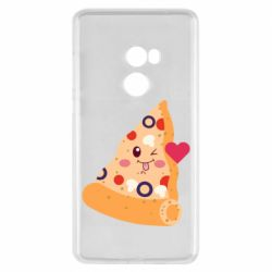 Чехол для Xiaomi Mi Mix 2 Funny pizza