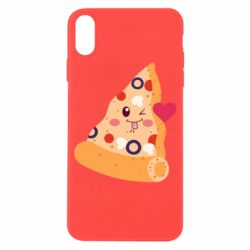 Чехол для iPhone X/Xs Funny pizza