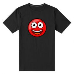 Чоловіча стрейчева футболка Funny Red Ball