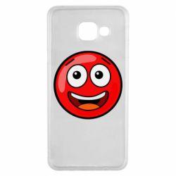 Чохол для Samsung A3 2016 Funny Red Ball