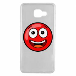 Чохол для Samsung A7 2016 Funny Red Ball