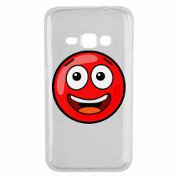 Чохол для Samsung J1 2016 Funny Red Ball