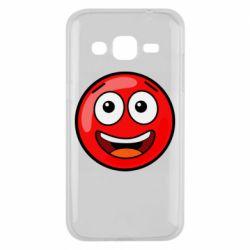 Чохол для Samsung J2 2015 Funny Red Ball
