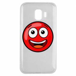 Чохол для Samsung J2 2018 Funny Red Ball