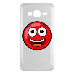 Чохол для Samsung J3 2016 Funny Red Ball