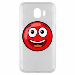 Чохол для Samsung J4 Funny Red Ball