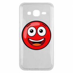 Чохол для Samsung J5 2015 Funny Red Ball