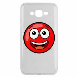 Чохол для Samsung J7 2015 Funny Red Ball