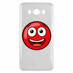 Чохол для Samsung J7 2016 Funny Red Ball