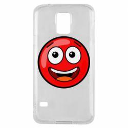 Чохол для Samsung S5 Funny Red Ball