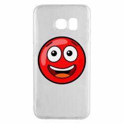 Чохол для Samsung S6 EDGE Funny Red Ball