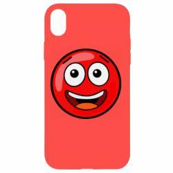 Чохол для iPhone XR Funny Red Ball