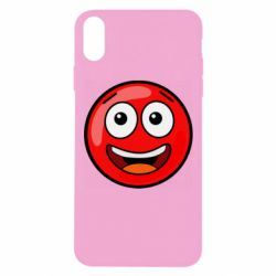 Чохол для iPhone Xs Max Funny Red Ball