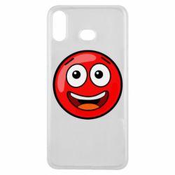 Чохол для Samsung A6s Funny Red Ball