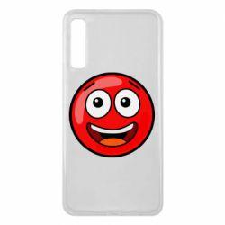 Чохол для Samsung A7 2018 Funny Red Ball