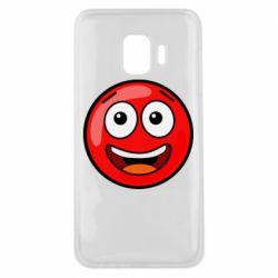 Чохол для Samsung J2 Core Funny Red Ball