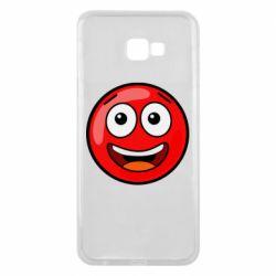 Чохол для Samsung J4 Plus 2018 Funny Red Ball