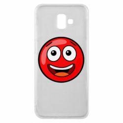 Чохол для Samsung J6 Plus 2018 Funny Red Ball