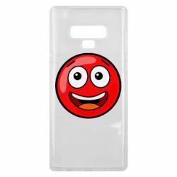 Чохол для Samsung Note 9 Funny Red Ball