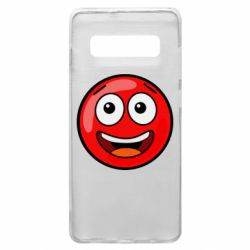 Чохол для Samsung S10+ Funny Red Ball