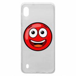 Чохол для Samsung A10 Funny Red Ball