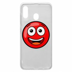 Чохол для Samsung A30 Funny Red Ball